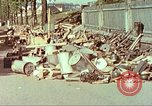 Image of Stacks of surrendered German arms and equipment Czechoslovakia, 1945, second 5 stock footage video 65675064580