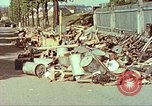 Image of Stacks of surrendered German arms and equipment Czechoslovakia, 1945, second 6 stock footage video 65675064580