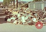 Image of Stacks of surrendered German arms and equipment Czechoslovakia, 1945, second 7 stock footage video 65675064580