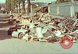 Image of Stacks of surrendered German arms and equipment Czechoslovakia, 1945, second 8 stock footage video 65675064580