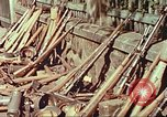 Image of Stacks of surrendered German arms and equipment Czechoslovakia, 1945, second 9 stock footage video 65675064580