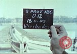 Image of United States soldiers Wiesbaden Germany, 1945, second 5 stock footage video 65675064585