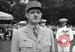 Image of General Charles De Gaulle Annapolis Maryland USA, 1945, second 6 stock footage video 65675064609