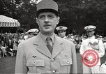 Image of General Charles De Gaulle Annapolis Maryland USA, 1945, second 7 stock footage video 65675064609