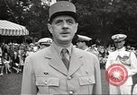 Image of General Charles De Gaulle Annapolis Maryland USA, 1945, second 8 stock footage video 65675064609