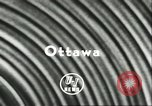 Image of Canadian jet fighter crash Ottawa Ontario Canada, 1956, second 5 stock footage video 65675064615