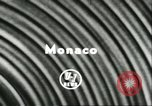 Image of Stirling Moss Monte Carlo Monaco, 1956, second 4 stock footage video 65675064618