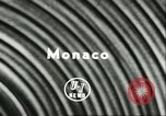 Image of Stirling Moss Monte Carlo Monaco, 1956, second 5 stock footage video 65675064618