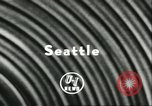 Image of Fishing competition Seattle Washington USA, 1956, second 2 stock footage video 65675064623