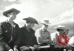 Image of teenage Rodeo competition Oregon United States USA, 1956, second 3 stock footage video 65675064624