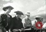 Image of teenage Rodeo competition Oregon United States USA, 1956, second 4 stock footage video 65675064624