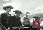 Image of teenage Rodeo competition Oregon United States USA, 1956, second 5 stock footage video 65675064624