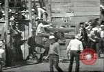 Image of teenage Rodeo competition Oregon United States USA, 1956, second 12 stock footage video 65675064624