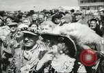Image of Queen Elizabeth Surrey England, 1956, second 11 stock footage video 65675064628