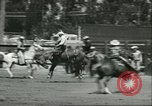 Image of 13th Annual Elk's Rodeo Santa Maria California USA, 1956, second 5 stock footage video 65675064629