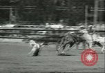 Image of 13th Annual Elk's Rodeo Santa Maria California USA, 1956, second 6 stock footage video 65675064629
