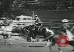 Image of 13th Annual Elk's Rodeo Santa Maria California USA, 1956, second 11 stock footage video 65675064629