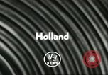 Image of Heer and Vrow Reeffer Holland Netherlands, 1956, second 2 stock footage video 65675064633