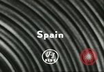 Image of Feast Day of San Fermin Pamplona Spain, 1956, second 2 stock footage video 65675064636