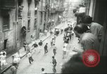 Image of Feast Day of San Fermin Pamplona Spain, 1956, second 3 stock footage video 65675064636