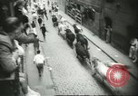 Image of Feast Day of San Fermin Pamplona Spain, 1956, second 9 stock footage video 65675064636