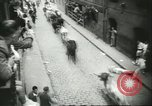 Image of Feast Day of San Fermin Pamplona Spain, 1956, second 10 stock footage video 65675064636