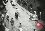 Image of Feast Day of San Fermin Pamplona Spain, 1956, second 11 stock footage video 65675064636