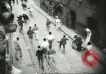 Image of Feast Day of San Fermin Pamplona Spain, 1956, second 12 stock footage video 65675064636