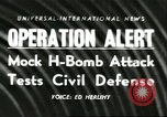 Image of Operation Alert nuclear attack readiness drill  Washington DC USA, 1956, second 1 stock footage video 65675064638