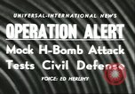 Image of Operation Alert nuclear attack readiness drill  Washington DC USA, 1956, second 2 stock footage video 65675064638