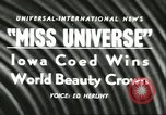 Image of Miss Universe Beauty Pageant California United States USA, 1956, second 3 stock footage video 65675064640