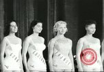 Image of Miss Universe Beauty Pageant California United States USA, 1956, second 10 stock footage video 65675064640