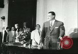 Image of Gamal Abdel Nasser Cairo Egypt, 1956, second 7 stock footage video 65675064648