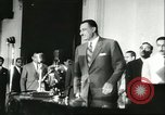 Image of Gamal Abdel Nasser Cairo Egypt, 1956, second 9 stock footage video 65675064648