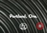 Image of Harry Holt Portland Oregon USA, 1956, second 5 stock footage video 65675064649