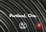 Image of Harry Holt Portland Oregon USA, 1956, second 6 stock footage video 65675064649