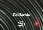 Image of Flying Saucer Radar Airplane California United States USA, 1956, second 5 stock footage video 65675064654