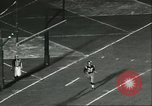 Image of football match California United States USA, 1956, second 6 stock footage video 65675064657