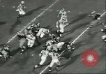 Image of football match California United States USA, 1956, second 11 stock footage video 65675064657