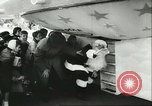 Image of Santa Clause in flying saucer Allentown Pennsylvania USA, 1956, second 12 stock footage video 65675064661
