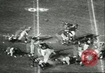 Image of football match California United States USA, 1956, second 9 stock footage video 65675064663
