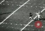 Image of football match California United States USA, 1956, second 11 stock footage video 65675064663