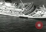 Image of SS Andrea Doria Nantucket Massachusetts USA, 1956, second 2 stock footage video 65675064665