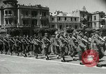 Image of Egyptian armed forces parading in Republic Square Cairo Egypt, 1956, second 8 stock footage video 65675064673