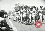 Image of Egyptian armed forces parading in Republic Square Cairo Egypt, 1956, second 10 stock footage video 65675064673