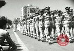 Image of Egyptian armed forces parading in Republic Square Cairo Egypt, 1956, second 11 stock footage video 65675064673