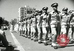Image of Egyptian armed forces parading in Republic Square Cairo Egypt, 1956, second 12 stock footage video 65675064673