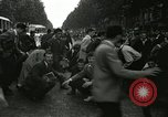 Image of riots France, 1950, second 1 stock footage video 65675064674