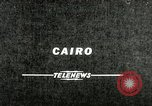 Image of Gamal Abdel Nasser Cairo Egypt, 1956, second 1 stock footage video 65675064677