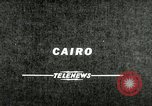 Image of Gamal Abdel Nasser Cairo Egypt, 1956, second 2 stock footage video 65675064677